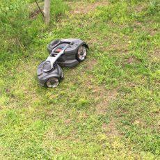 Neuer Mähroboter Husqvarna Automower 435X AWD installiert